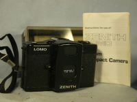 '        LOMO ' Zenit Lomo LC-A Lomography Vintage Camera Cased + Inst -MINT- £79.99